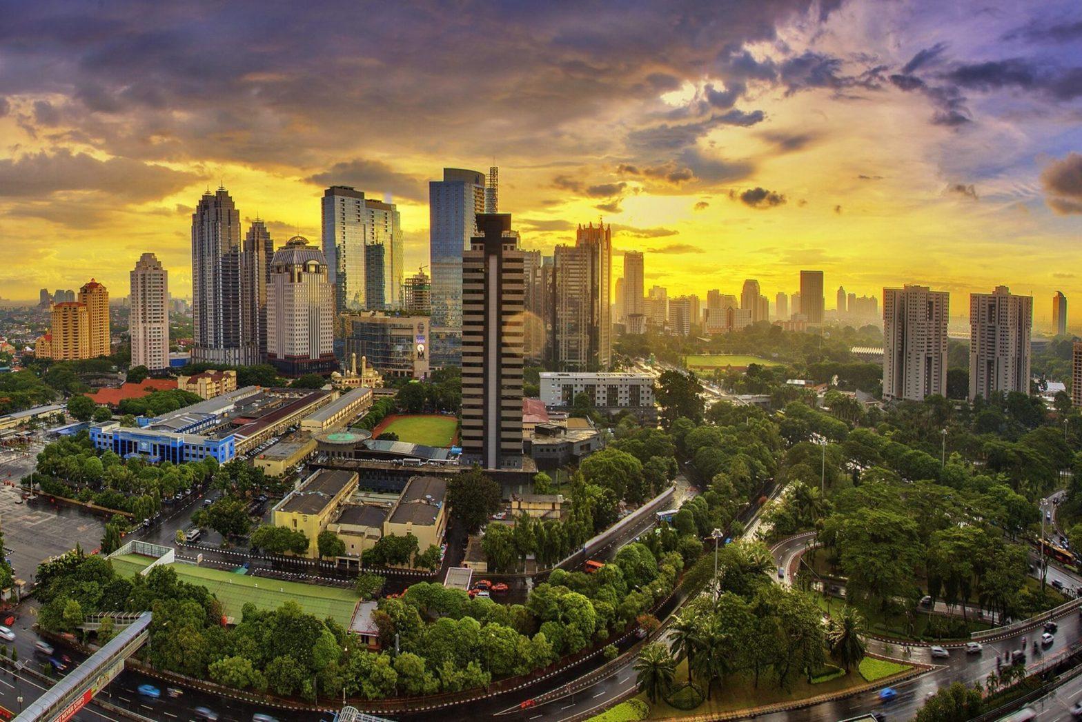 Jakarta, ibu kota Indonesia, adalah pusat ekonomi, budaya dan politik Indonesia