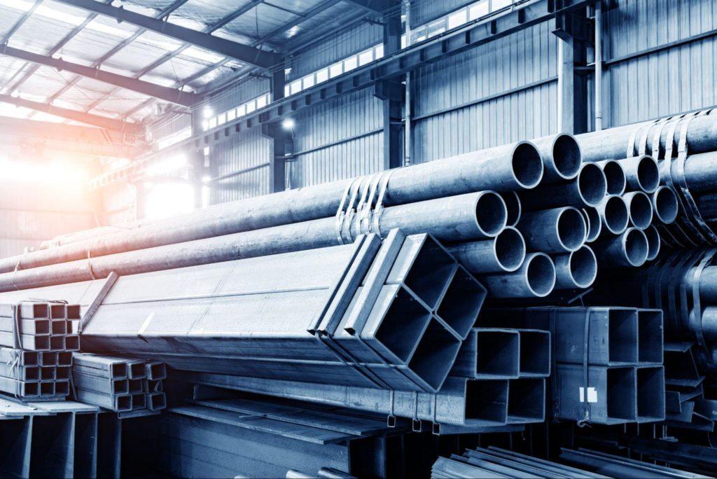 Inside look of a steel mill