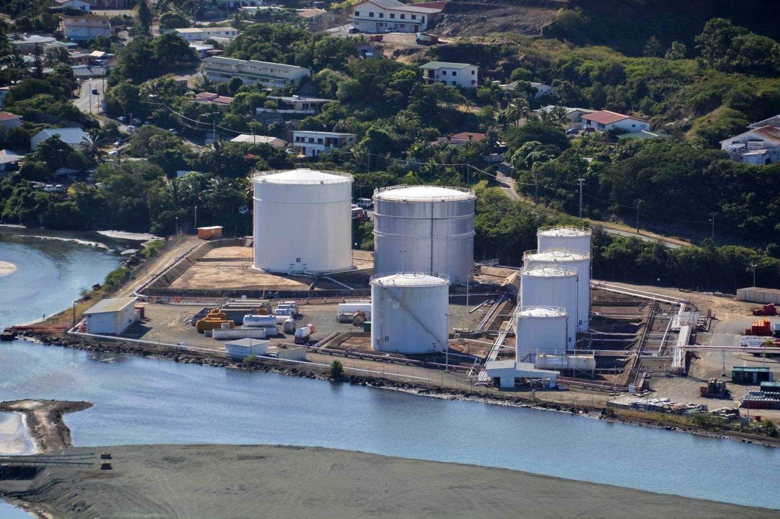 SLN Nickel Processing Plant